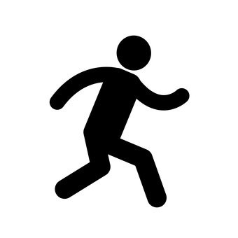 Pictogram (running)
