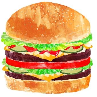Hamburger / double cheeseburger