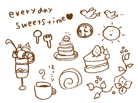 Sweets graffiti