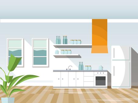 Interior (kitchen)