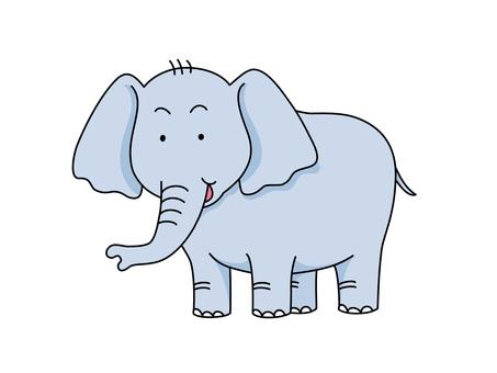 Child elephant