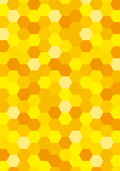 Honeycomb vertical position (no white line)