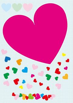 Heart, ♡ Material, leaflet material