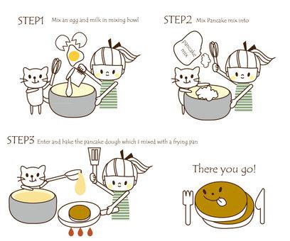 팬케이크 만들기