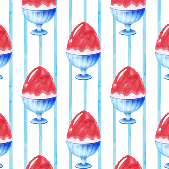 Shaved ice pattern _ stripes