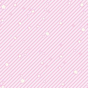 背景-星とストライプ・ピンク