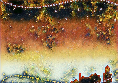 Christmas Starry Sky 5