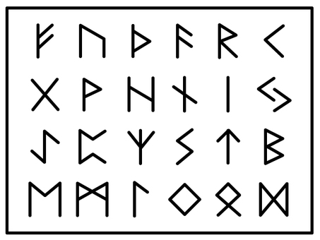 Northern European rune character