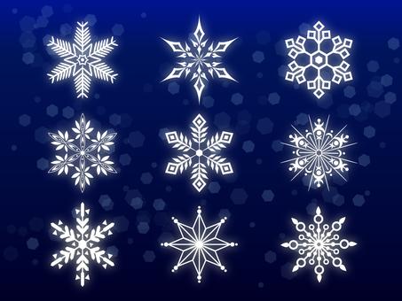 Snow crystal summary