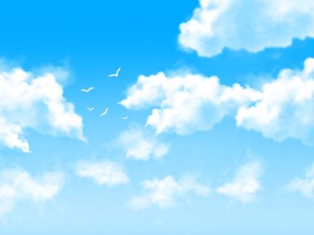 A calm sky 2