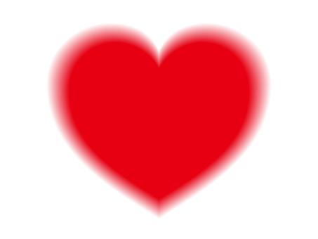 Valentine's Day (4) Blurred Heart