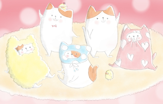All the members of Nyanko