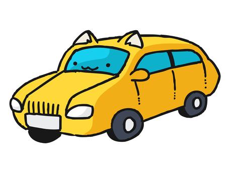 Cat Cat Ear Car