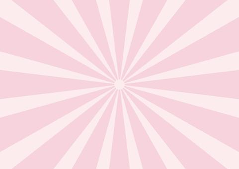 Pastel radiation pink