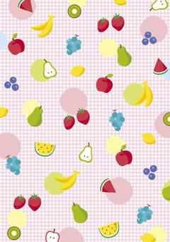 Background pattern fruit