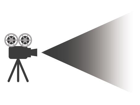 Projector icon in screening