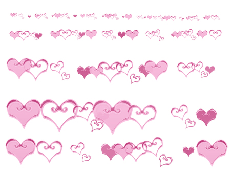 Heart Parts (Pink)