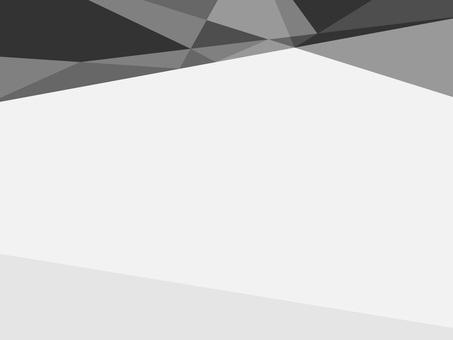 Triangular pattern background · black