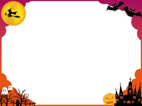 Halloween frame 3