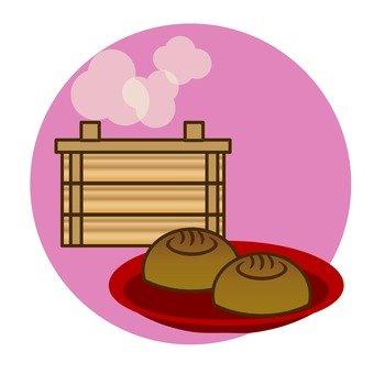 Hot spring bun
