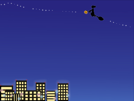 Urban Night Flying Witch