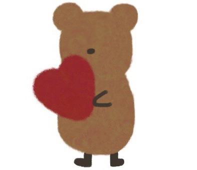 Kuma and Heart