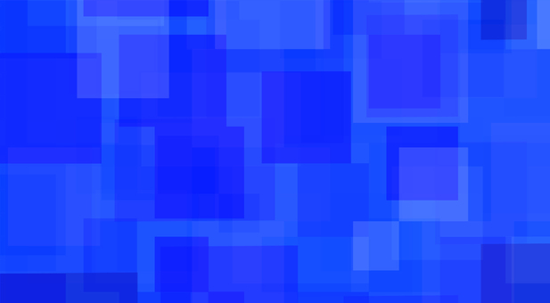 Abstract blue patchwork illustration
