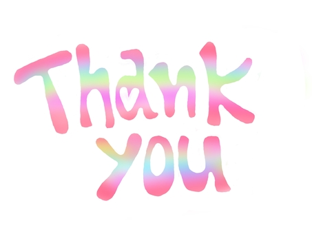 Thank you (gradient)