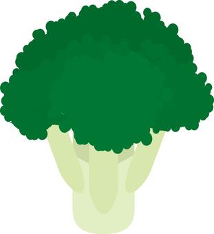 Food series vegetable broccoli