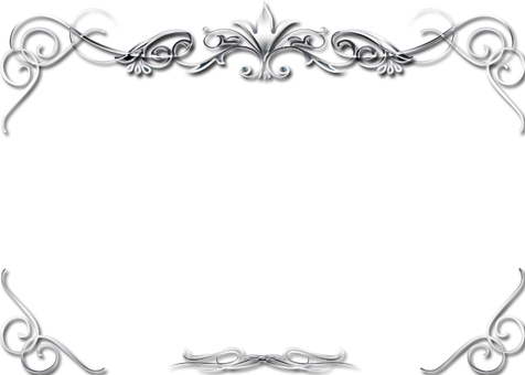 Silver's luxury decorative frame