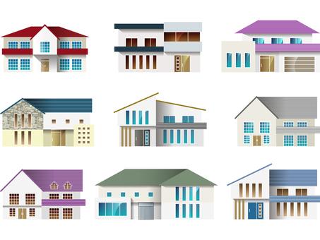House / house set