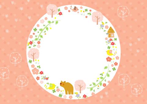 벚꽃과 작은 새 4