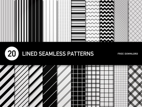 Simple line pattern 20 / seamless