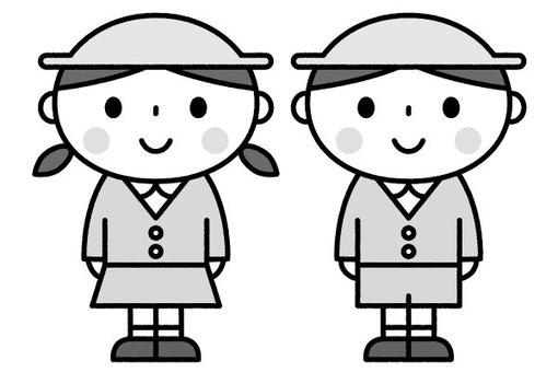 귀여운 어린이 / 원아 / 보육 / 유치원
