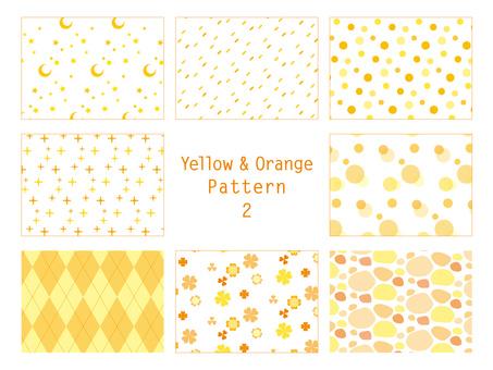 황색 계 패턴 2