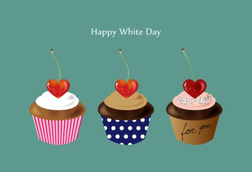 Cherry muffin white day ver.