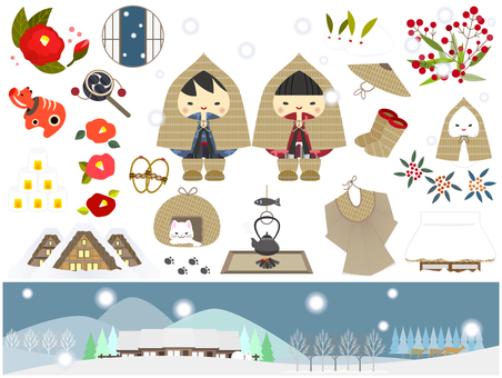 Winter _ Snowman 04 (set)