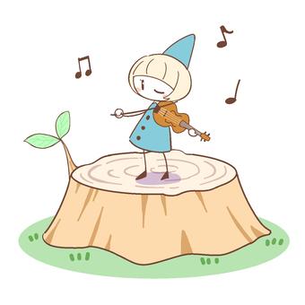 어린이와 바이올린