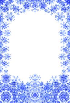Snow frame (2012-1)