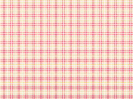 Check pattern pink ★ 0108-E