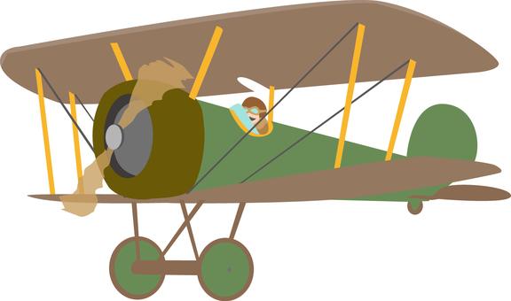 제 1 차 세계 대전에서 등장한 복엽 비행기 비행기