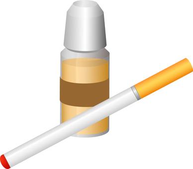 Electronic cigarette & liquid: RGB