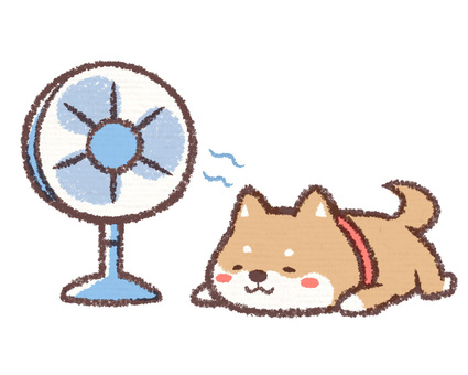 Fan machine dog