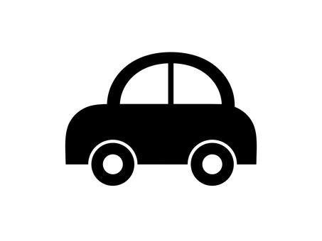 Car Vehicle Silhouette Border Black