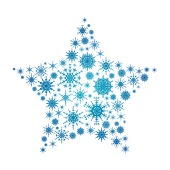 Snow crystal star 1