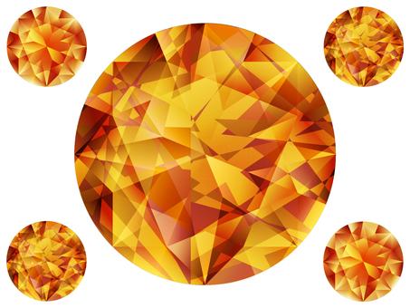 Mandarin · Garnet (jewelry)