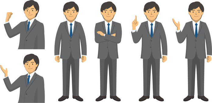 Businessman - set 9