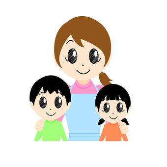 Family, parent-child 6