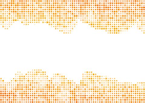 도트 질감 - 오렌지
