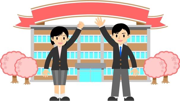 Graduation ceremony / entrance ceremony
